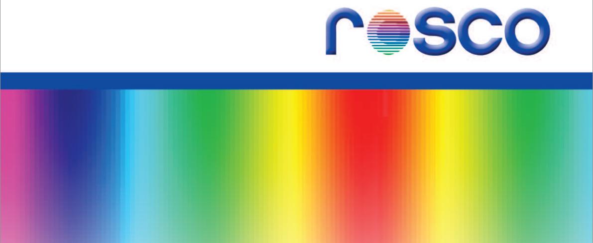 Filtres et gelatines ROSCO