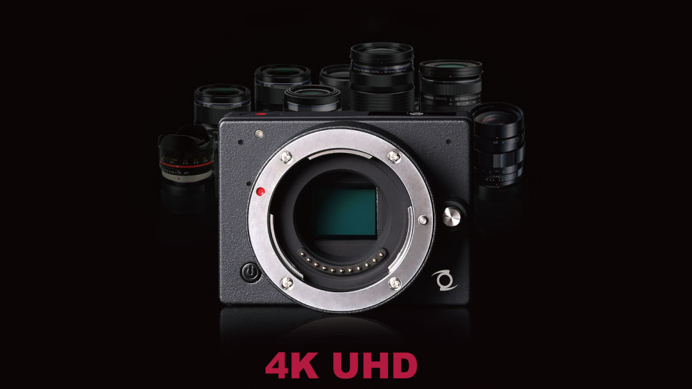 La plus petite caméra 4K MFT à optiques interchangeables